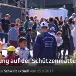Schweiz aktuell | Belebung auf der Schützenmatte